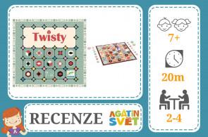 RECENZE: Twisty - DJECO