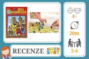 RECENZE: Carcassonne a Děti z Carcassonne - MINDOK