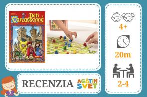 RECENZIA: Carcassonne a Deti z Carcassonne - MINDOK