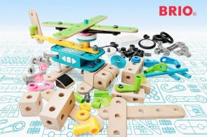 Brio Builder - dokonalé dřevěné montážní stavebnice