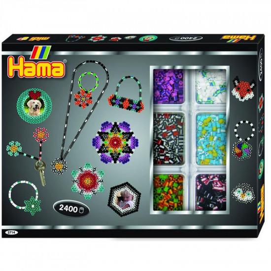 Hama Midi - Velká dárková sada - aktivní box - 2400 ks