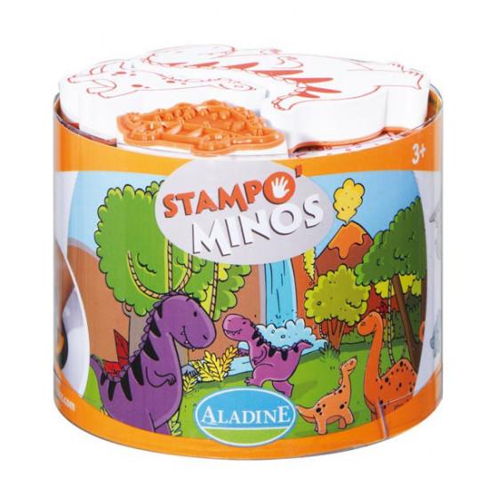 Detské pečiatky StampoMinos - Dinosaury