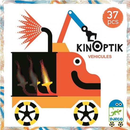 Kinoptik - dopravní prostředky budoucnosti - 37 ks