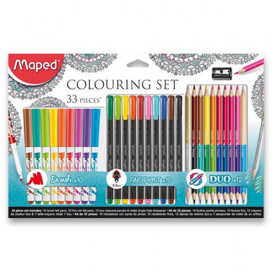 Výtvarná kolekcia Maped Colouring set - 33 kusov