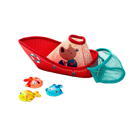 Lilliputiens - rybářská loď - hračka do vody