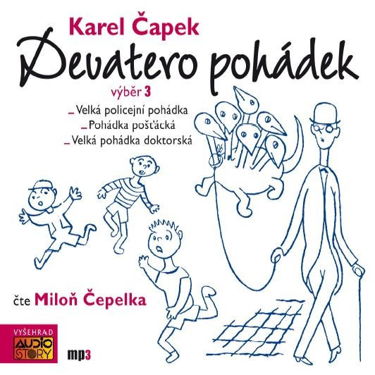 Devatero pohádek 3 - audiokniha na CD - MP3