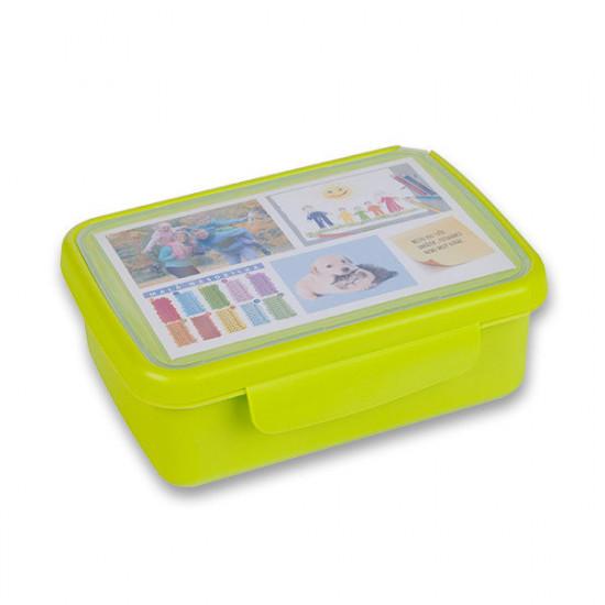 Svačinový box Zdravá sváča - zelený