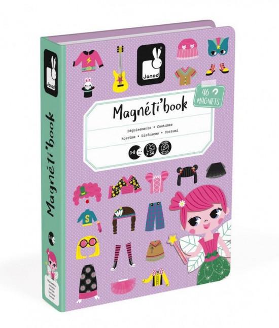 Magnetická kniha - Oblékání dívky