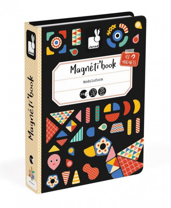 Magnetická kniha - Tvary