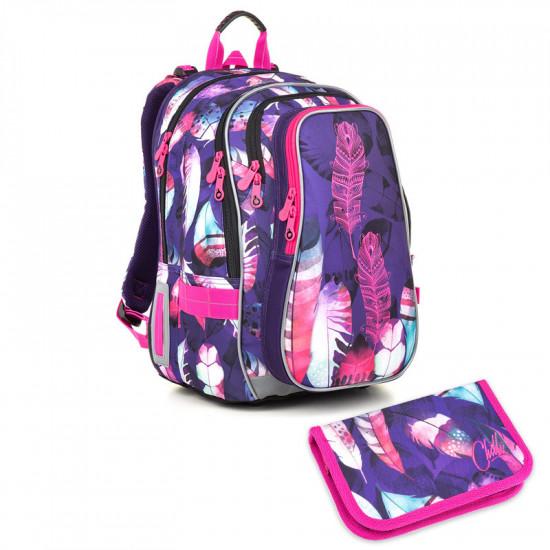 Školní batoh a penál Topgal  -  LYNN 18009 G
