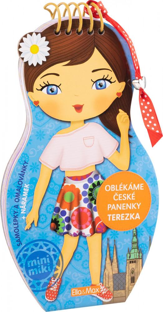Oblékáme české panenky Terezka
