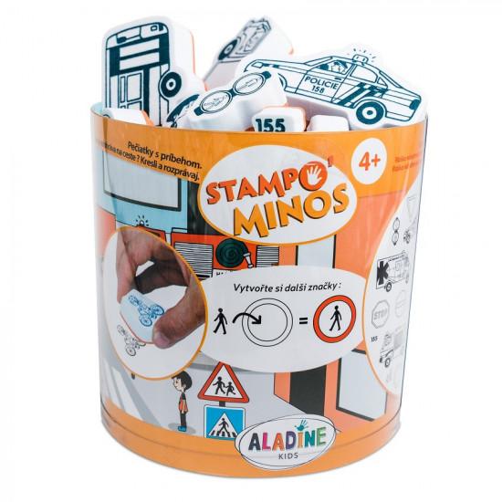 Pečiatky s príbehom StampoMinos, Dopravné prostriedky