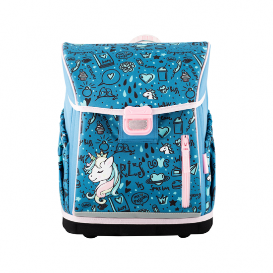 HAMA Školská taška pre prváčikov, Unicorn