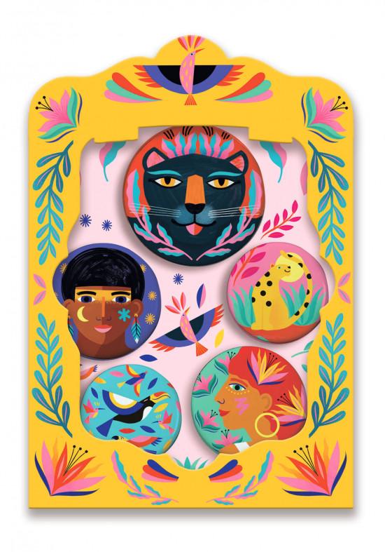 Odznaky – Afrika