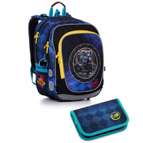 Školní batoh a penál Topgal ENDY 20013 B