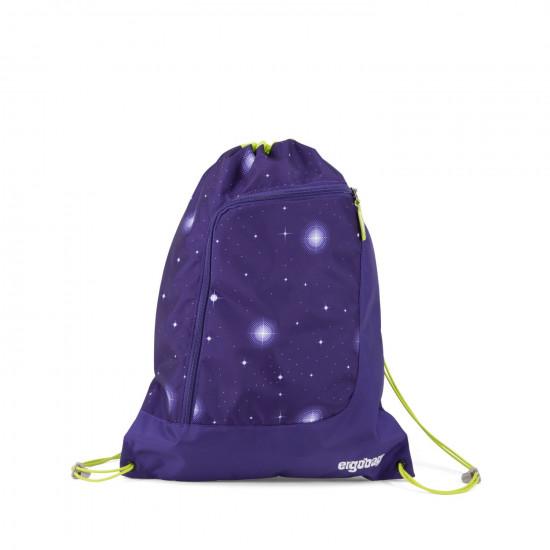 Športový vak Ergobag - Galaxy fialový 2020
