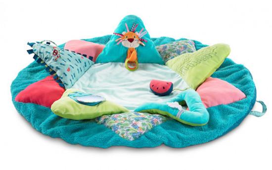 Lilliputiens - dětská hrací deka - lemur Georges