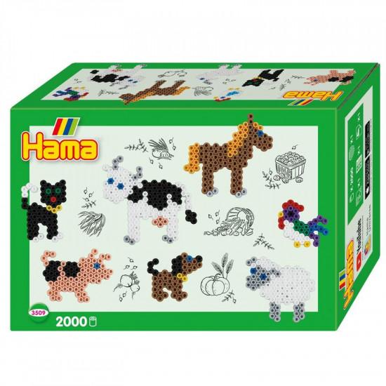 Hama Midi -  malý svět - Farma - 2000 ks