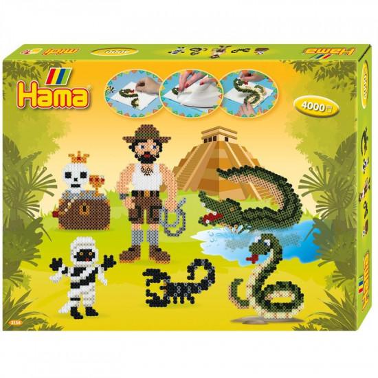 Hama Midi – Veľká darčeková súprava – Dobrodružstvo – 4 000 ks