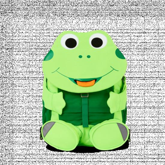 Affenzahn batoh do škôlky- Žabka Finn - neon