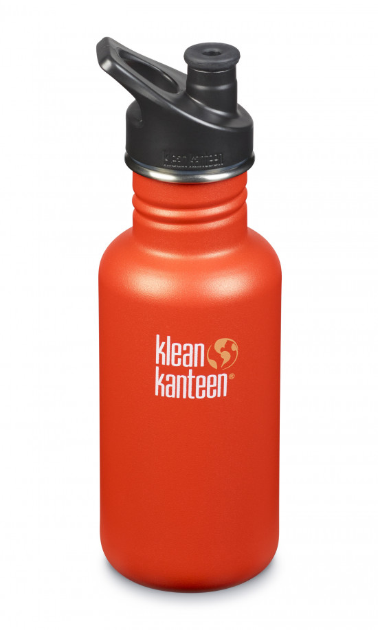 Nerezová fľaša Klean Kanteen Classic w/Sport Cap 3.0 - sierra sunset matte 532 ml