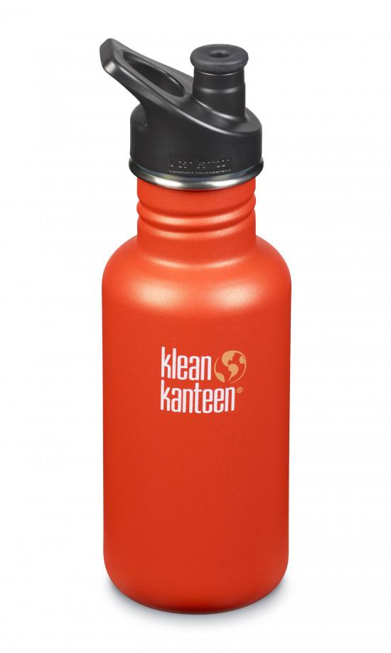 Nerezová lahev Klean Kanteen Classic w/Sport Cap 3.0 - sierra sunset matte 532 ml