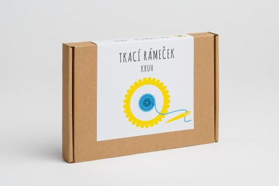 Pikle - Tkací rámeček - Kruh