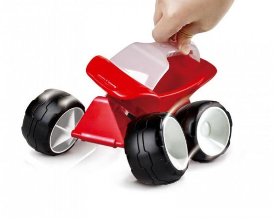 Bugina červená - hračka na písek