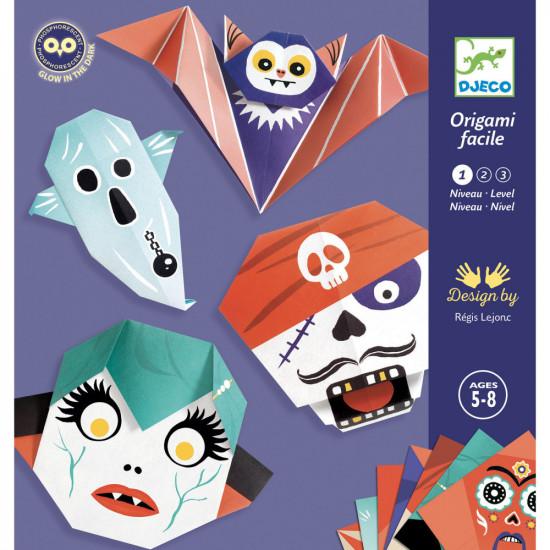 Origami - příšery ze strašidelného domu