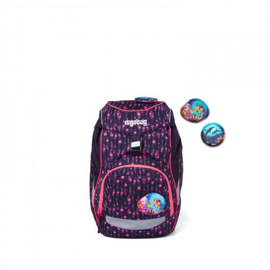 Školský batoh Ergobag prime – Fluo mystic