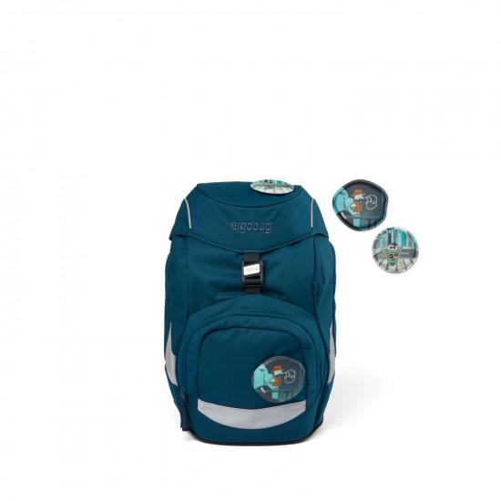 Školní batoh Ergobag prime - Eco blue