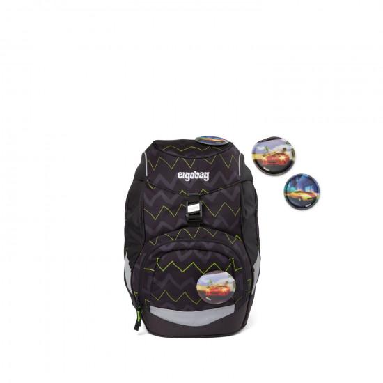 Školní batoh Ergobag prime - Černý zig zag 2021