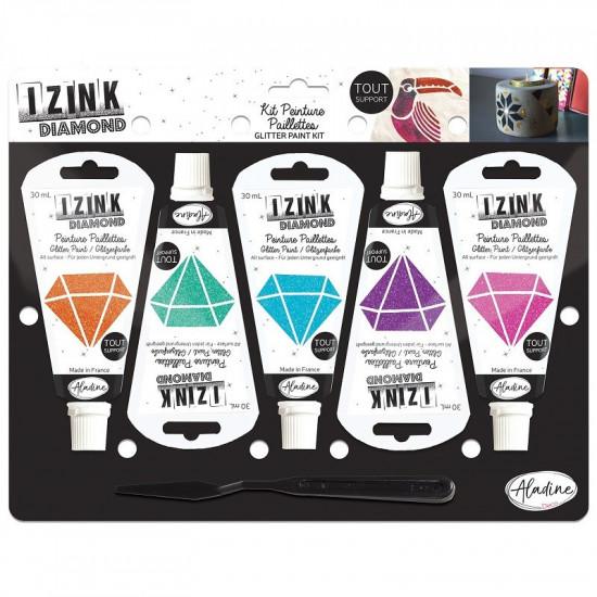Kreatívna súprava Izink Diamond - color - 5 ks