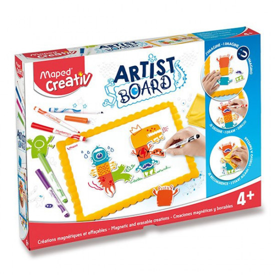 Sada MAPED Creativ Artist Board - Magnetická tabule