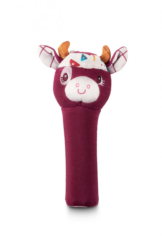Lilliputiens - pískací hračka - kravička Rosalie