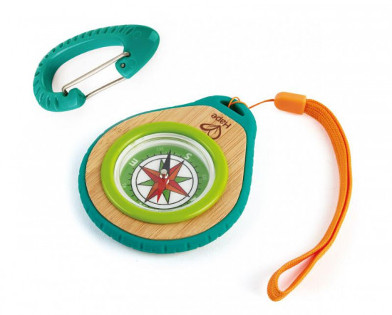 Bamboo - kompas s karabinou