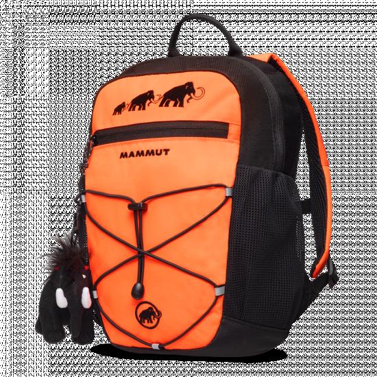 Detský batoh Mammut, First Zip 16 safety orange-black