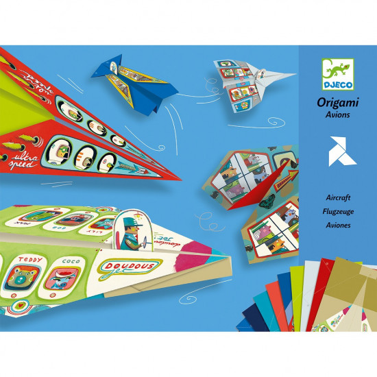 Origami Papierové lietadlá