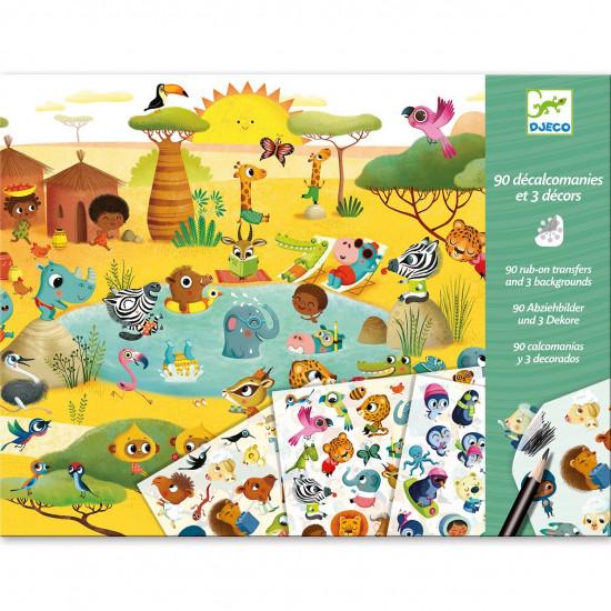 Hra s propisotom – Savana, púšť a severný pól