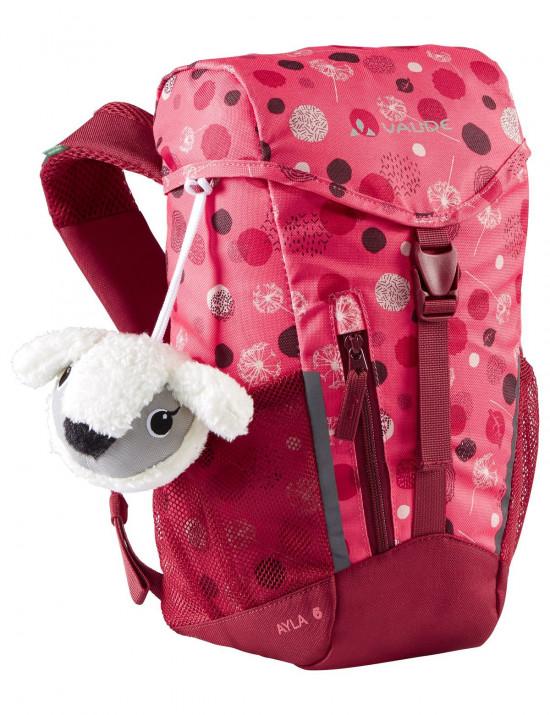 Dětský batoh Vaude Ayla 6, bright pink/cranberry