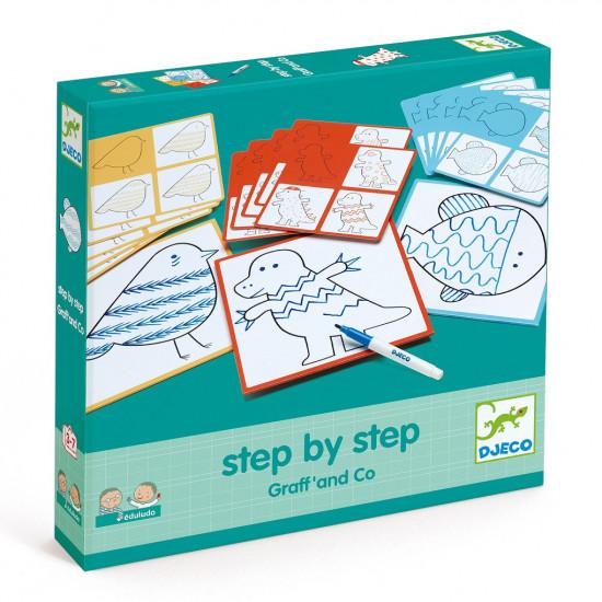 Eduludo - Malování krok za krokem - Grafomotorika