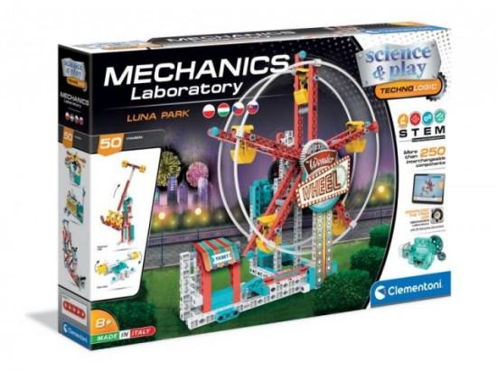 Mechanická laboratoř - Lunapark - 50 modelů - 250 dílků