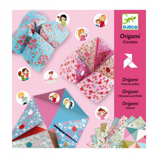 Origami Nebe, peklo, ráj - romantické
