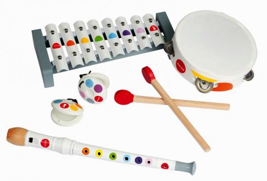 Sada hudebních nástrojů Confetti