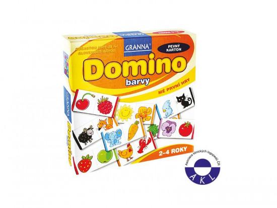Domino - barvy