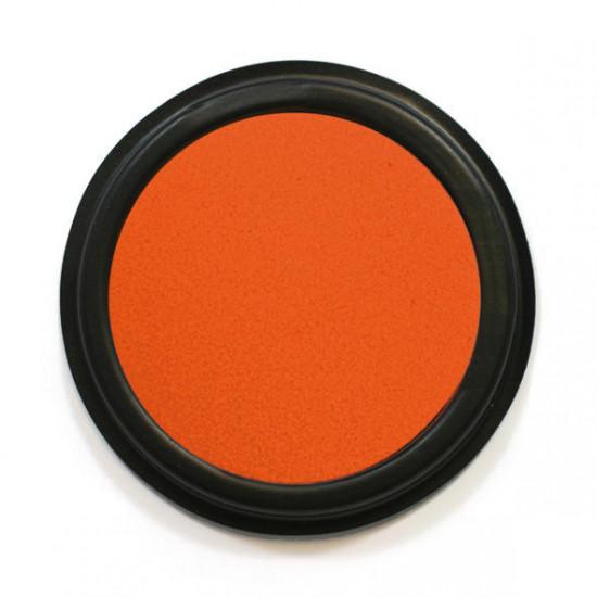 Textilní razítkovací polštářek, Oranžový