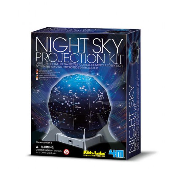 Mapa nočnej oblohy 3D