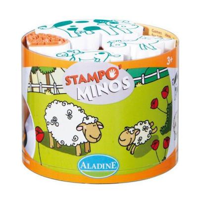 Detské pečiatky StampoMinos - Domáce zvieratká