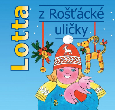 Lotta z Rošťácké uličky - audiokniha na CD - mp3