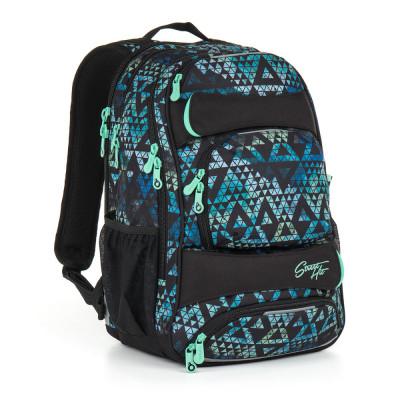 Studentský batoh Topgal - HIT 888 E - Green